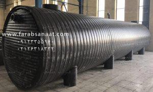 پروژه ۵۶ واحدی رودهن خریدار سپتیک تانک ۳۲ متر مکعب