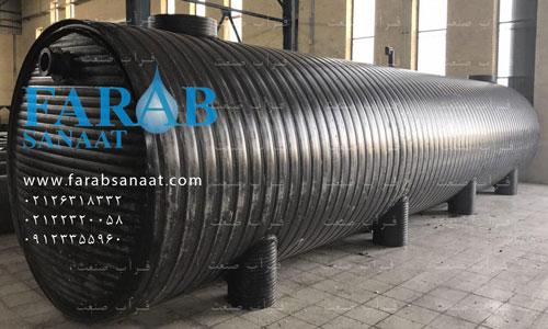 خرید سپتیک تانک پلی اتیلن 32 متر مکعب برای رودهن